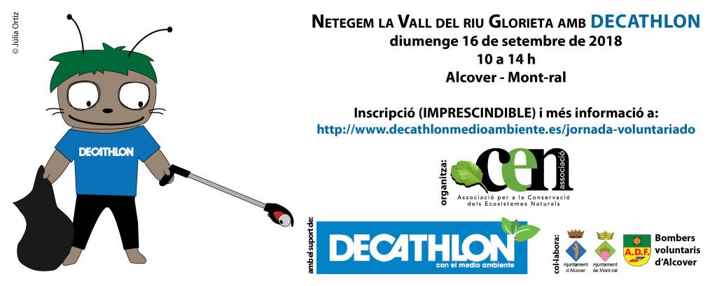 2018-09-16 neteja Glorieta Decathlon